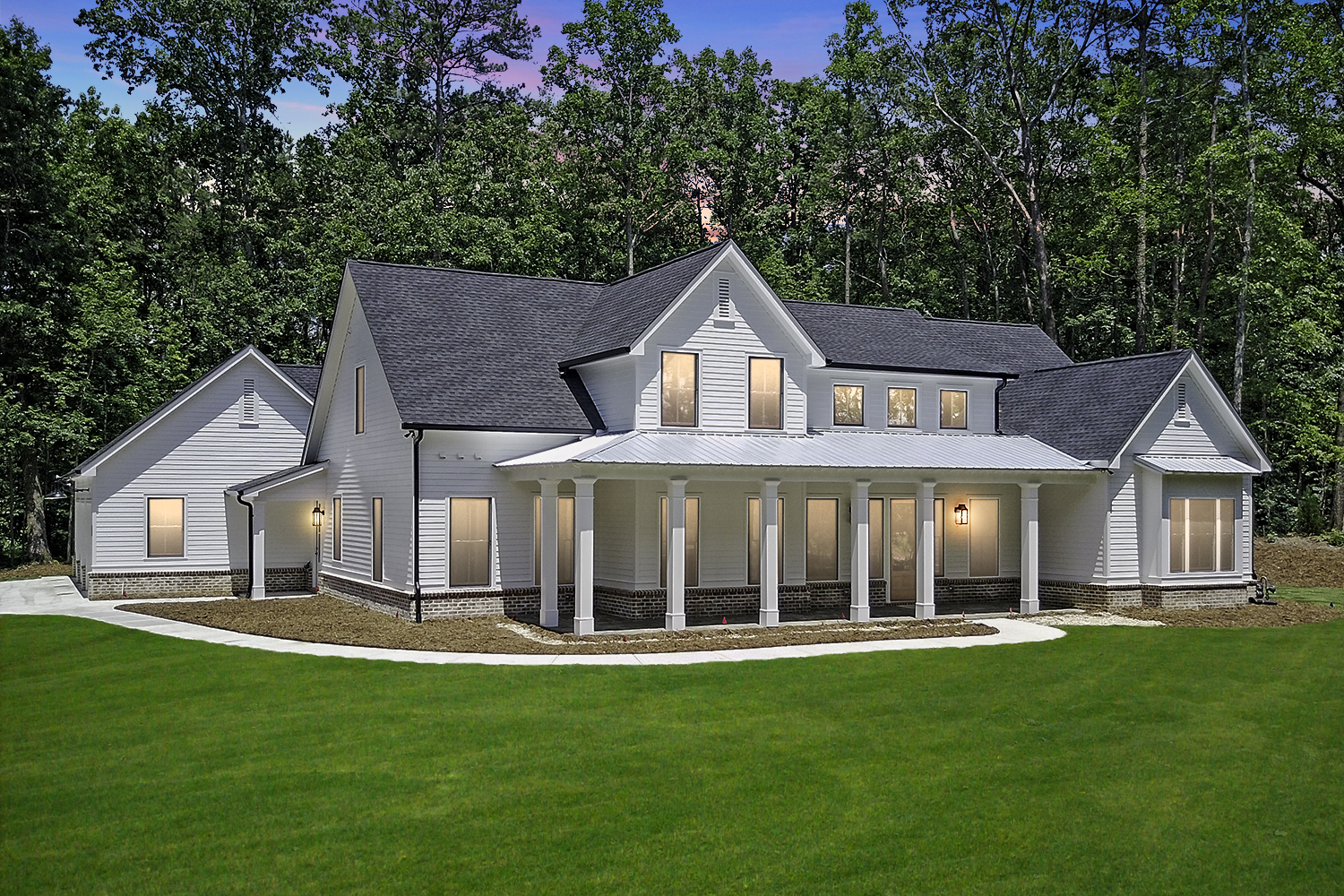 New Modern Farmhouse with Award Winning Plan