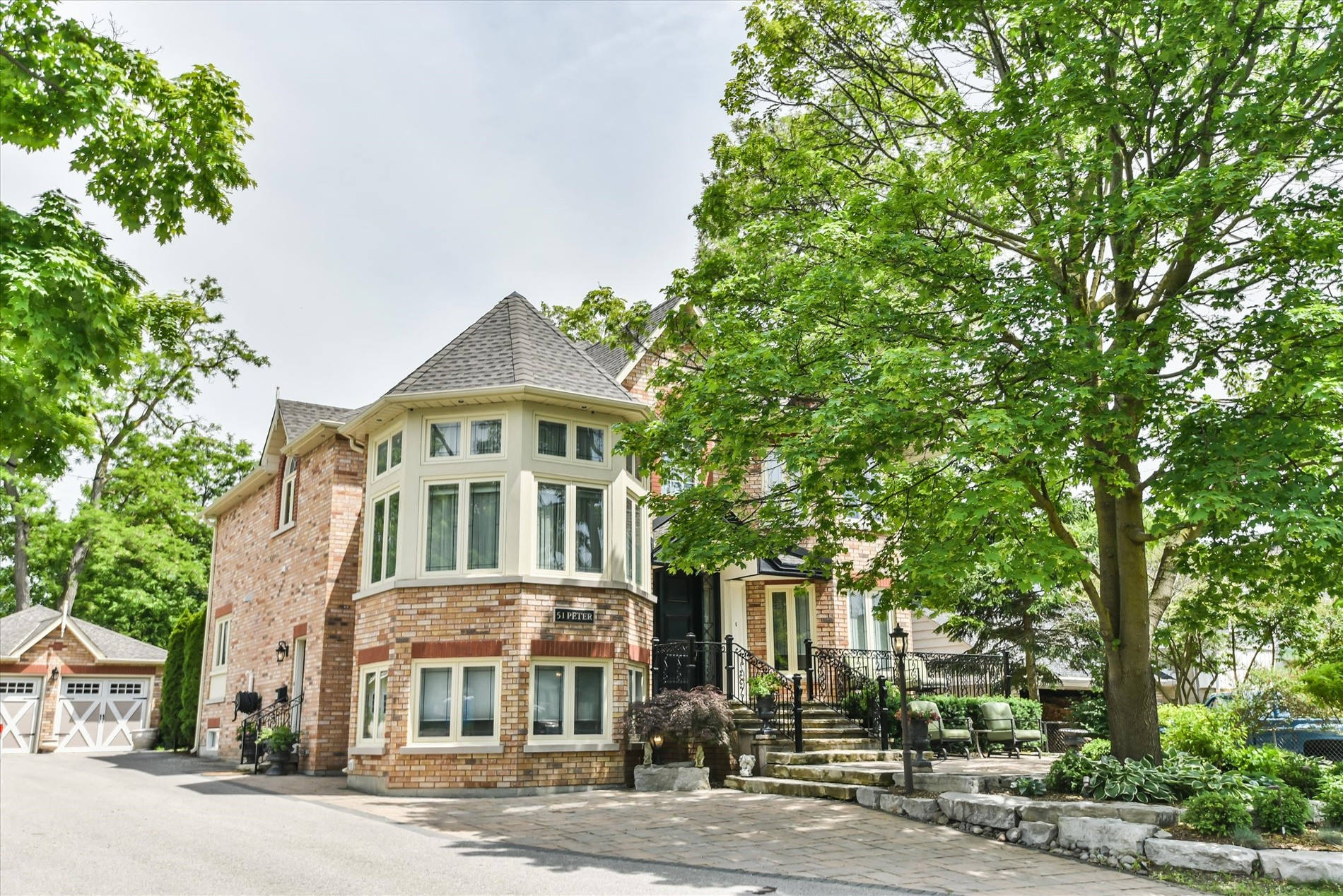 Victorian Inspired Custom-Built Home Complete With A Pool!
