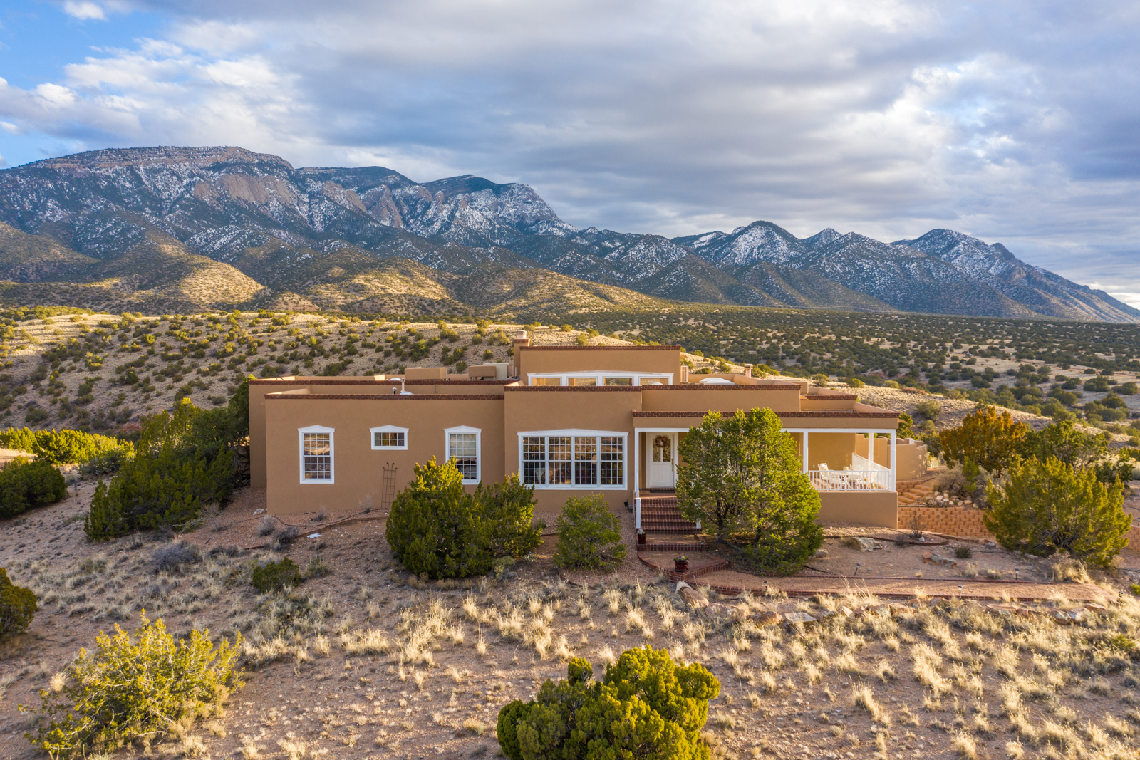 Commanding Sandia Mountain Views