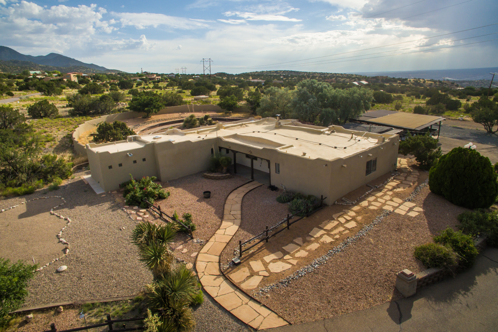 Horse Lover's Dream Property in Placitas, New Mexico