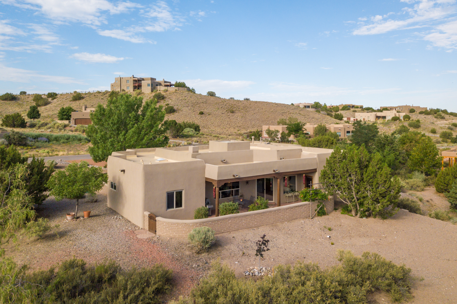 Southwestern Custom Home in Placitas NM