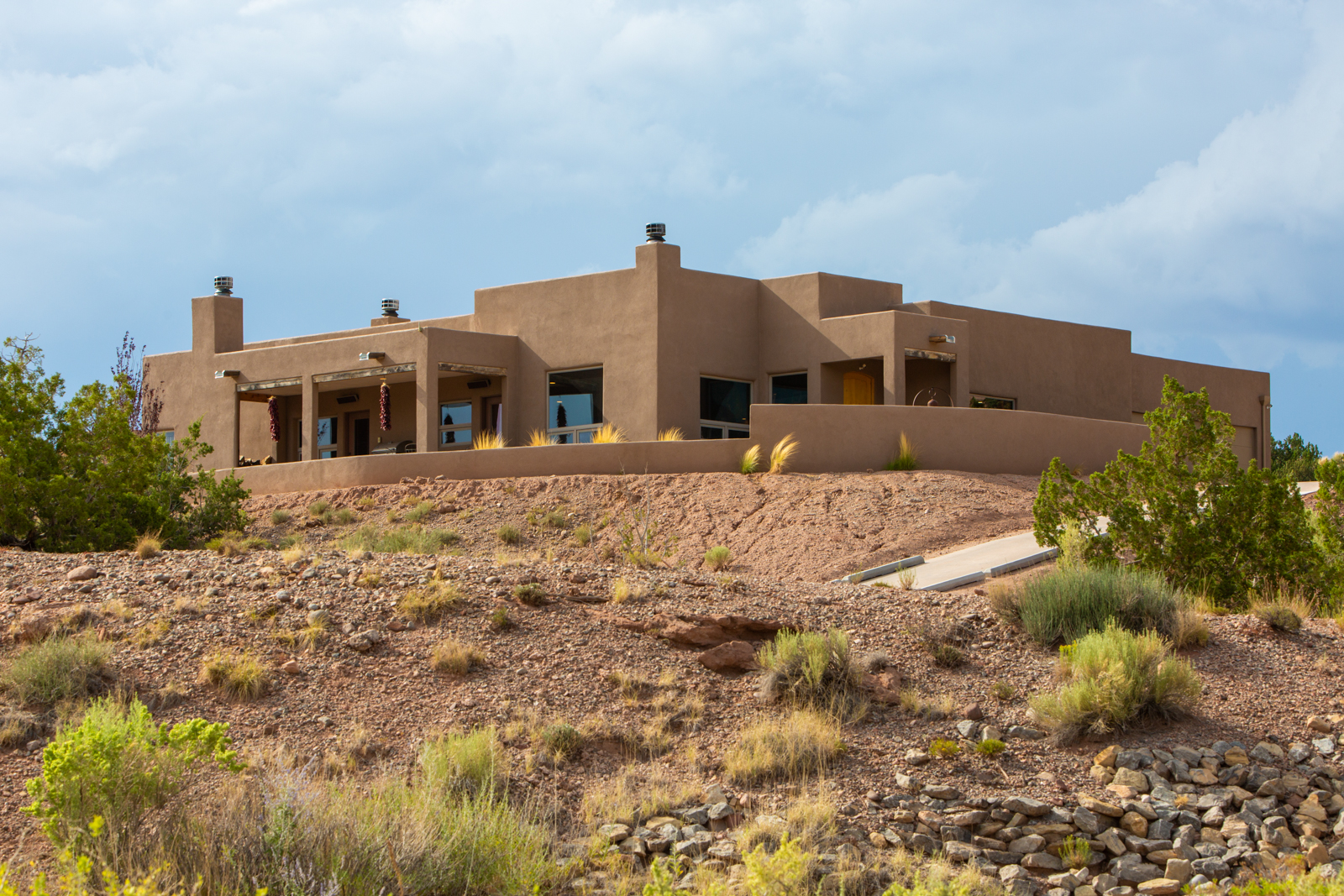Single Story Custom with Spectacular Sandia Mountain Views