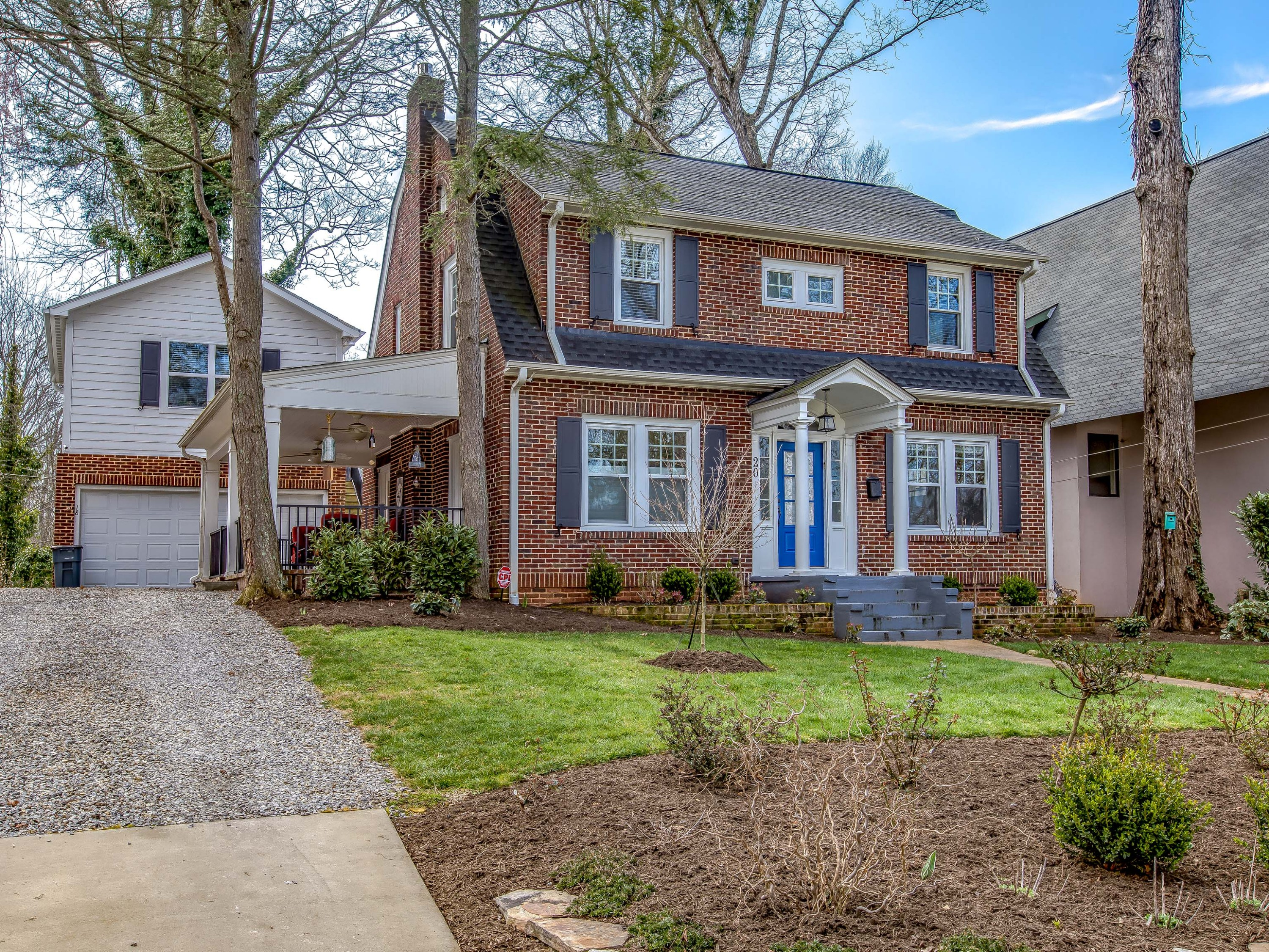 Montford Home w/ Detached Garage Apartment - Completely Renovated