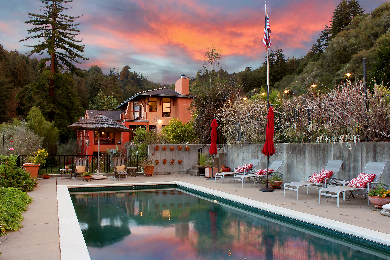 Stunning Modern California/Tuscan in Santa Cruz wine country!