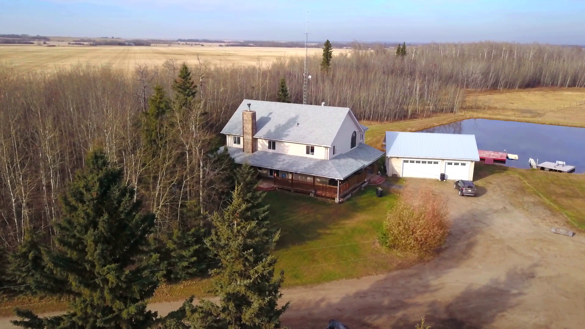 Large family home on 80 acres in Sturgeon County