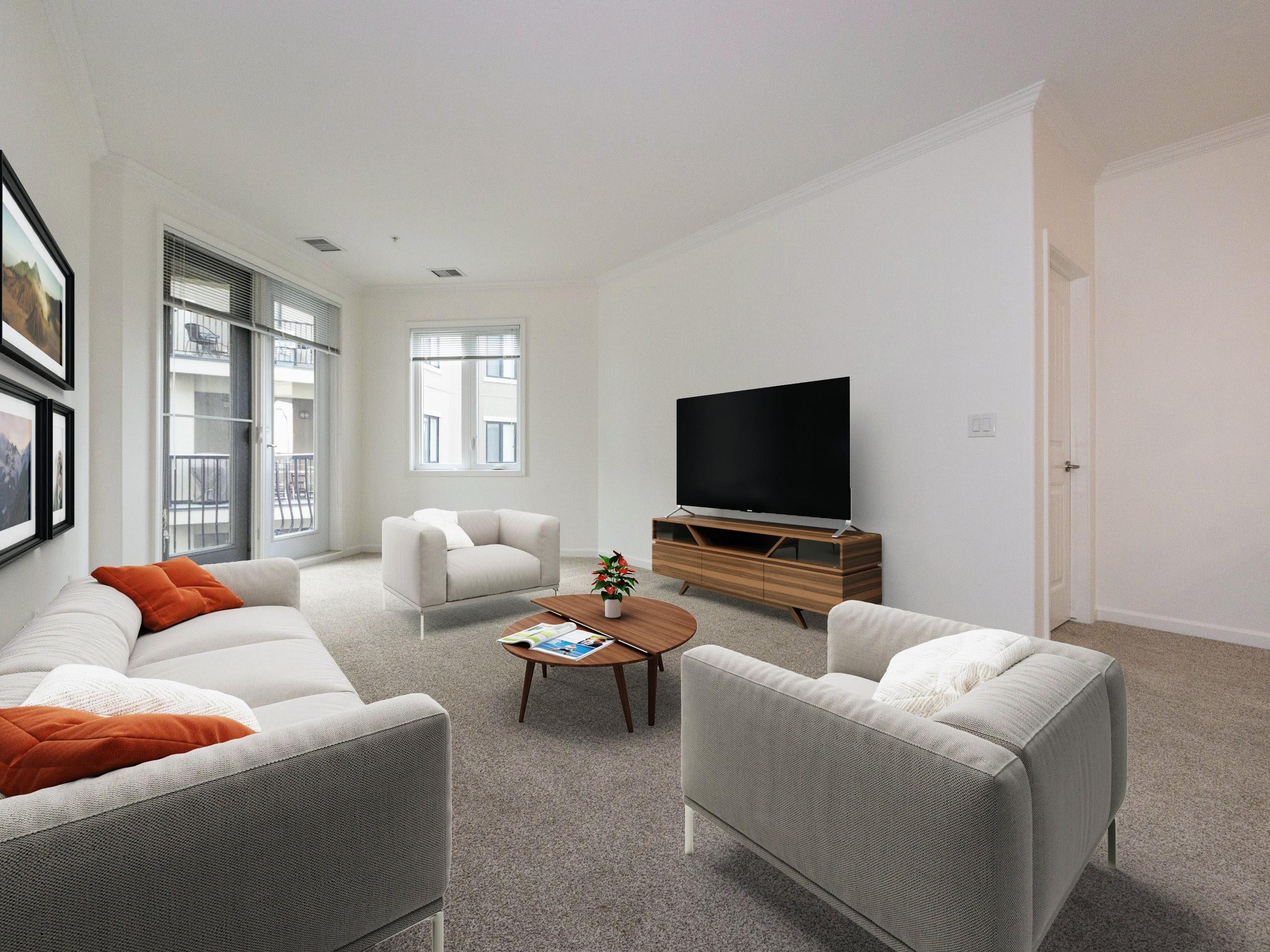 Open plan, 2 bedroom condo in Mactaggart