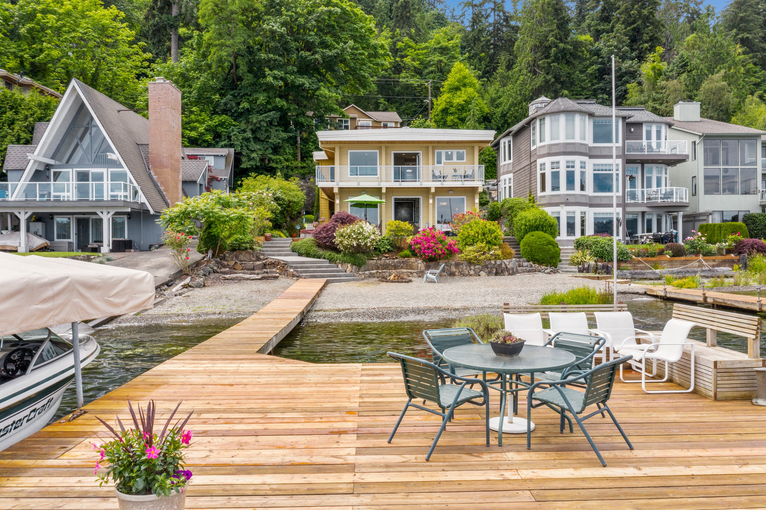 Ideal summer space on Lake Sammamish!