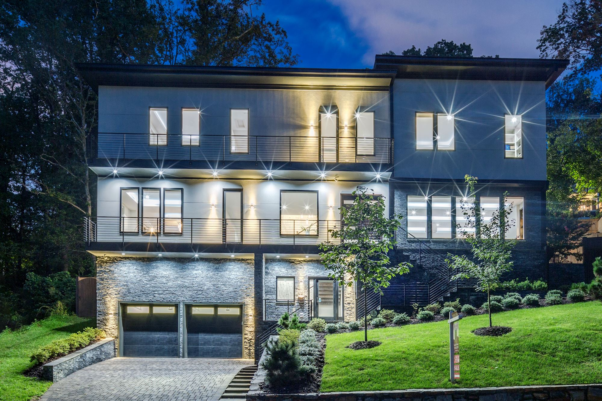 North Arlington's Most Sought After Address - World Class Modern Luxury w/Optimal Accessibility & Privacy