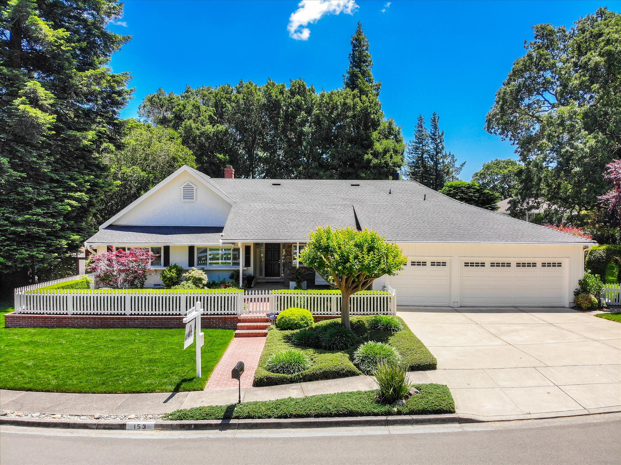 Desirable Quintessential Westside Danville Home