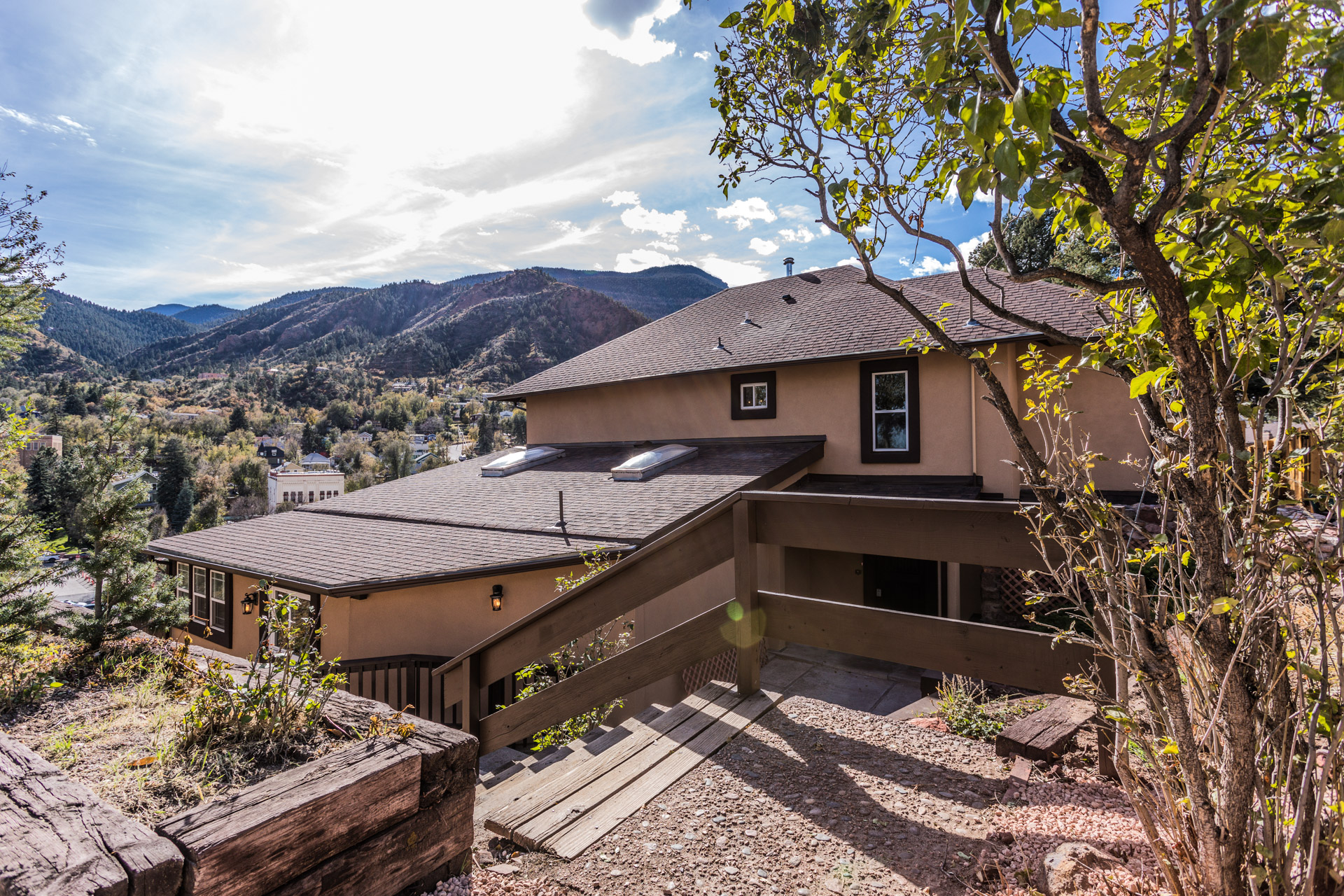 One of kind home located in the historical town of Manitou Springs